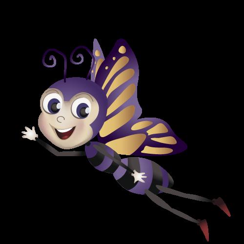 Potiron papillon