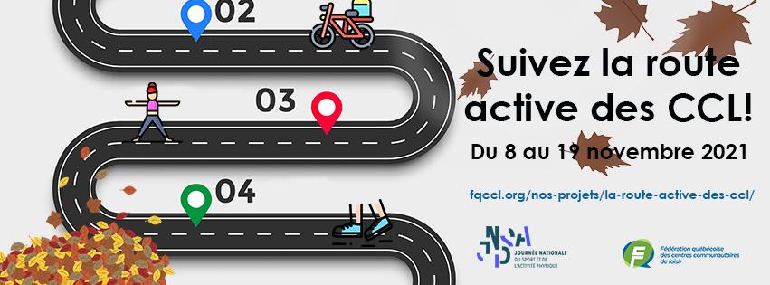 Bannière Route active automne 2021